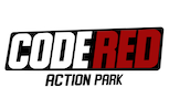 CODE RED ACTION PARK – JUMP NINJA LASERTAG ESCAPE 3D GOLF Logo